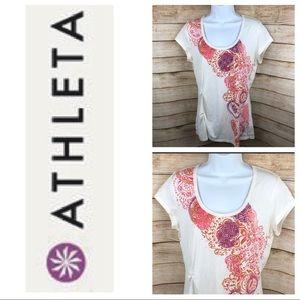 ATHLETA short sleeve t-shirt top
